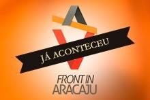Logo da conferência Front in Aracaju