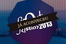 Logo da conferência Front in Rio 2013