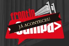 Logo da conferência Front in Sampa