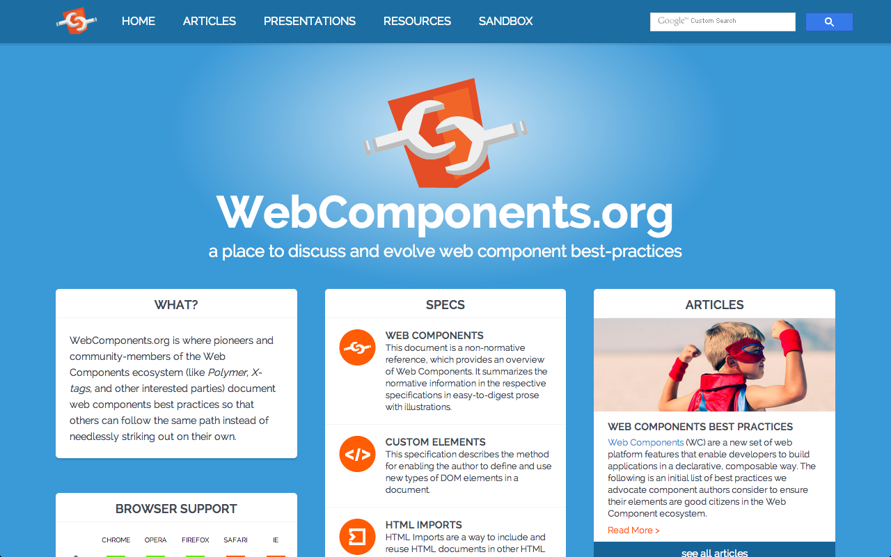web components 1